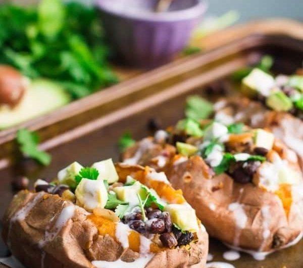 Sweet potatoes & black beans