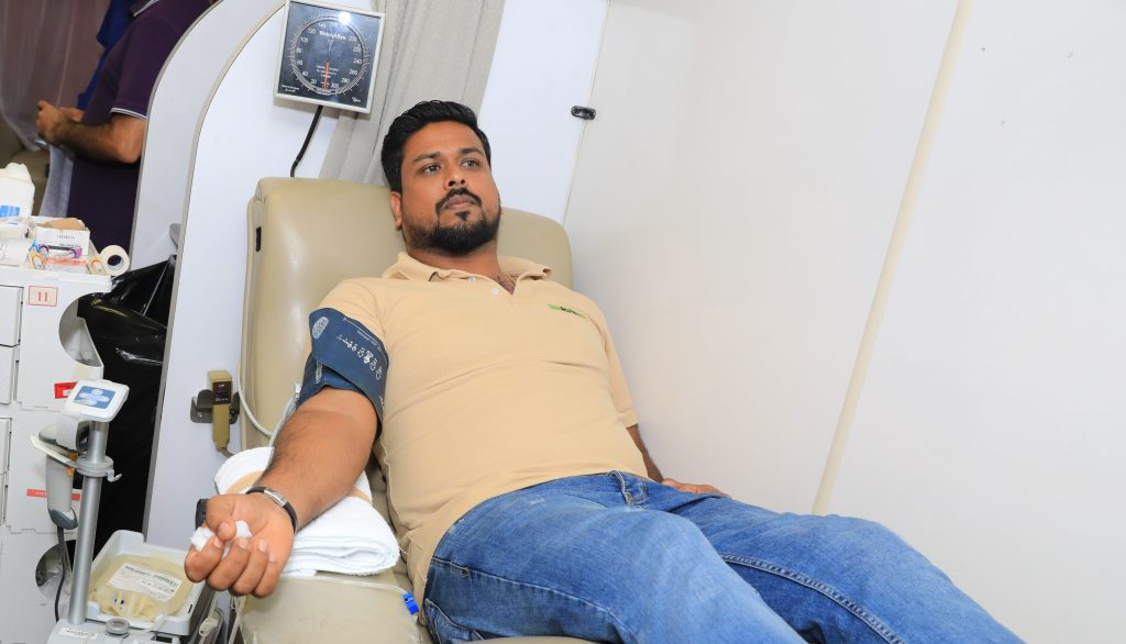 Ansar Gallery Blood donation event with Hamad Medical Corporation blood donation
