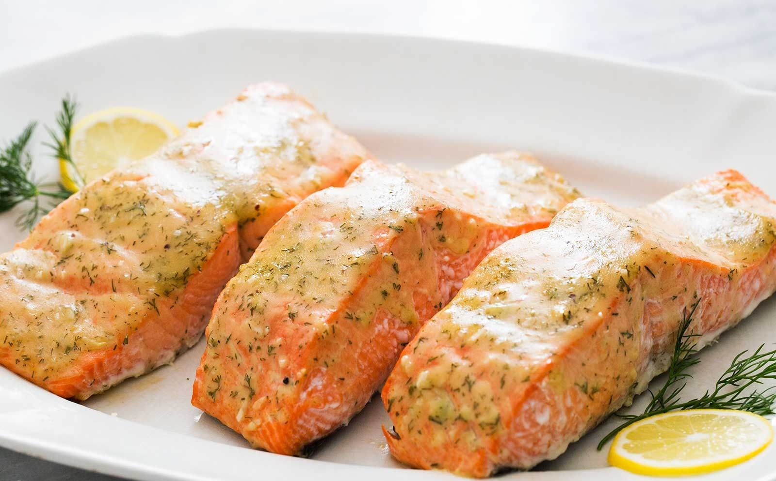 Mustard & Honey Baked Salmon